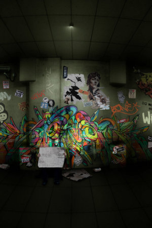 Abstract Graffiti Design IPhone Wallpaper Mobile Wallpaper