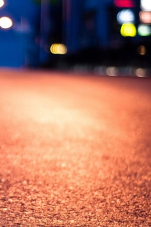 Street Night Bokeh Road IPhone Wallpaper Mobile Wallpaper