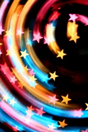 Star Dizzy Colors 3D IPhone Wallpaper Mobile Wallpaper