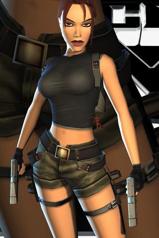 Tomb Raider Girl IPhone Wallpaper Mobile Wallpaper