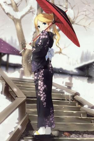 Sensei Winter Anime IPhone Wallpaper Mobile Wallpaper