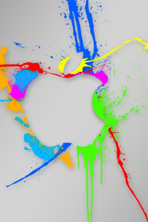 Splash Paint On Wall 3D Android Wallpaper Mobile Wallpaper