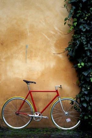 Bicycle On Corner Android Wallpaper Mobile Wallpaper
