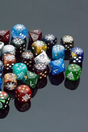 Dices Colors 3D IPhone Wallpaper Mobile Wallpaper