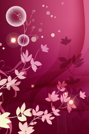 Pink Floral IPhone Wallpaper Mobile Wallpaper