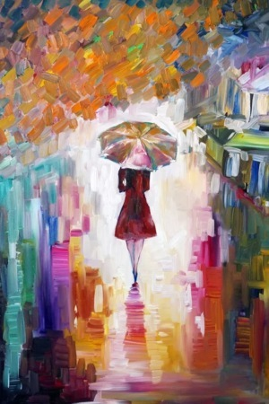 Painting Girl IPhone Wallpaper Mobile Wallpaper