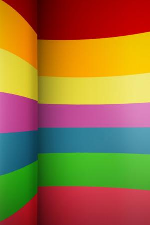 Rainbow Art Wall IPhone Wallpaper Mobile Wallpaper