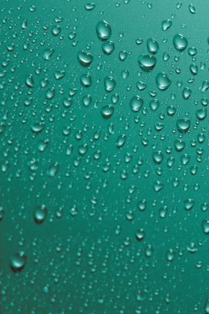 Green Water Droplets IPhone Wallpaper Mobile Wallpaper