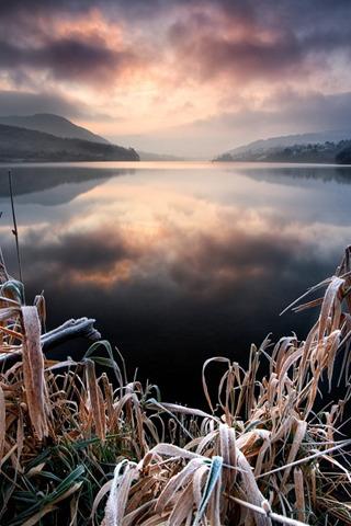 Frost Lovely Sky IPhone Wallpaper Mobile Wallpaper