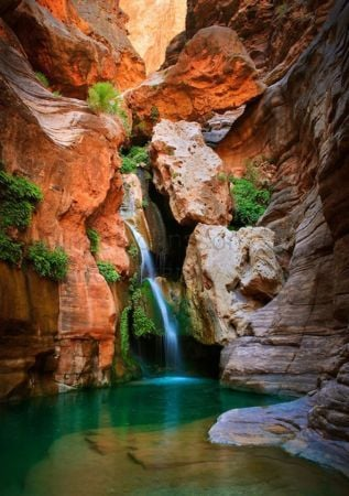 Chasm Waterfall Nature IPhone Wallpaper Mobile Wallpaper