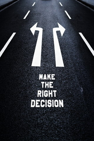 Make The Right Decision IPhone Wallpaper Mobile Wallpaper