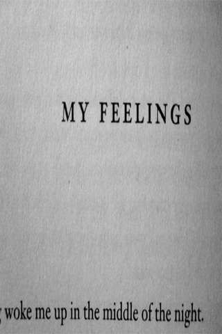 My Feelings IPhone Wallpaper Mobile Wallpaper