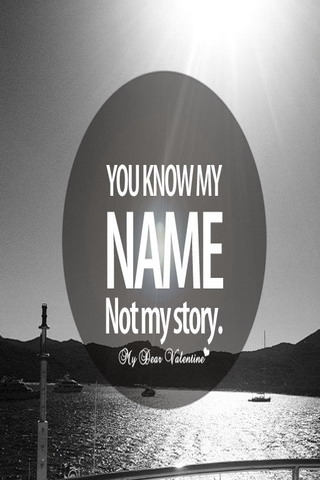 You Know My Name IPhone Wallpaper Mobile Wallpaper