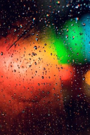 Rainbow Drop Screen IPhone Wallpaper Mobile Wallpaper