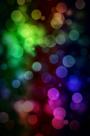 Colors Abstract Bokeh IPhone Wallpaper Mobile Wallpaper