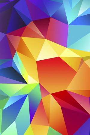 Multi 3D Colors IPhone Wallpaper Mobile Wallpaper