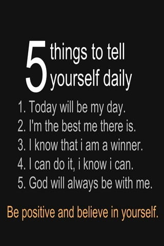 Five Things Urself Daily IPhone Wallpaper Mobile Wallpaper