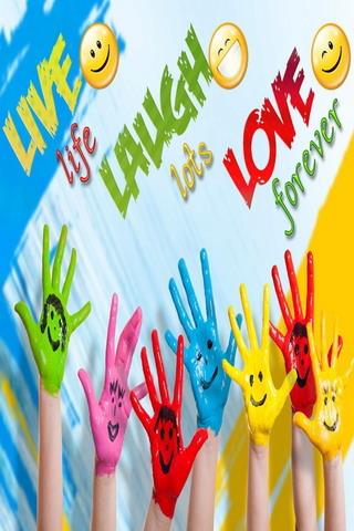 Live Life Laugh Love IPhone Wallpaper Mobile Wallpaper