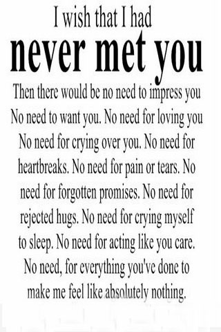 Never Met You IPhone Wallpaper Mobile Wallpaper
