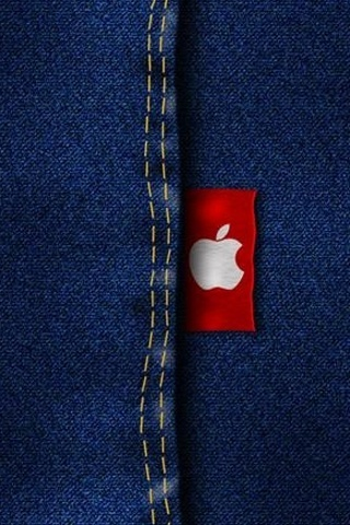 Apple Jeans Cute IPhone Wallpaper Mobile Wallpaper