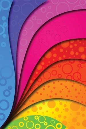 Abstract Colorful Swirl IPhone Wallpaper Mobile Wallpaper