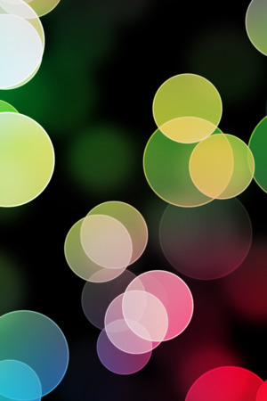 3D Colorful Bokeh IPhone Wallpaper Mobile Wallpaper