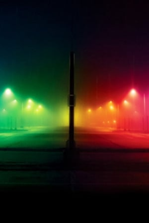 Colors Lights Street Road Iphone Wallpaper Mobile Wallpaper