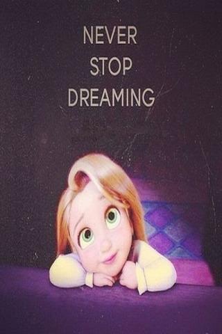 Never Stop Dreaming IPhone Wallpaper Mobile Wallpaper