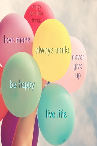 Lovely Quotes Always Smile IPhone Wallpaper Mobile Wallpaper