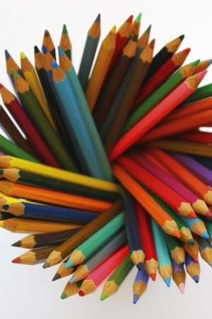 Abstract Colorful Pencils IPhone Wallpaper Mobile Wallpaper