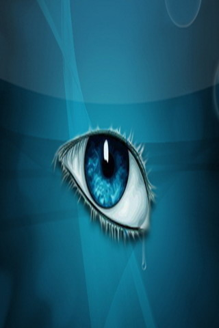 3D Crying Eye IPhone Wallpaper Mobile Wallpaper
