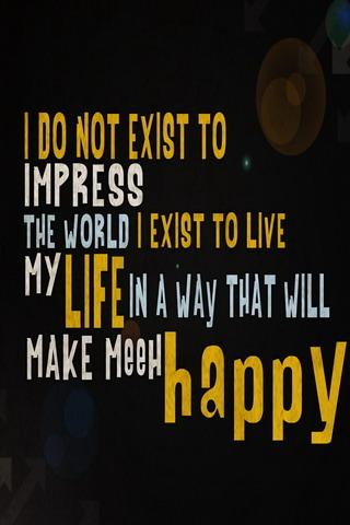 Life Happy IPhone Wallpaper Mobile Wallpaper