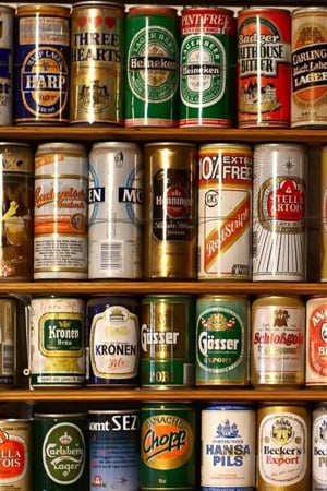 Beer Cans Cupboard IPhone Wallpaper Mobile Wallpaper