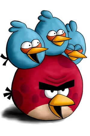 Happy Angry Birds IPhone Wallpaper Mobile Wallpaper
