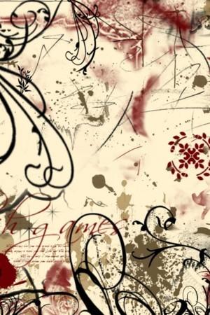 Flower Design Art IPhone Wallpaper Mobile Wallpaper