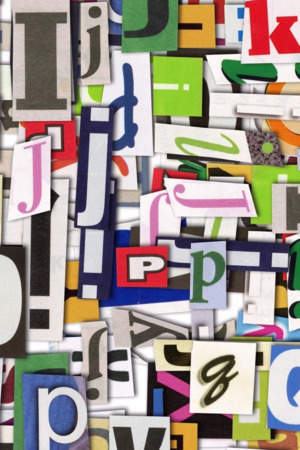Colorful Clippings IPhone Wallpaper Mobile Wallpaper