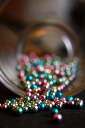 Colored Beads IPhone Wallpaper Mobile Wallpaper