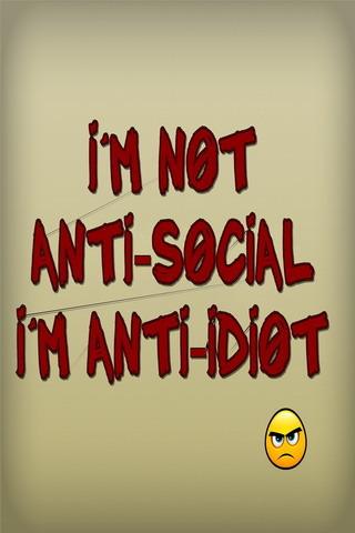 Anti Social IPhone Wallpaper Mobile Wallpaper