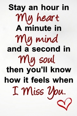 My Heart & Miss You IPhone Wallpaper Mobile Wallpaper