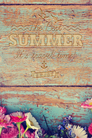 Summer Travel Time IPhone Wallpaper Mobile Wallpaper