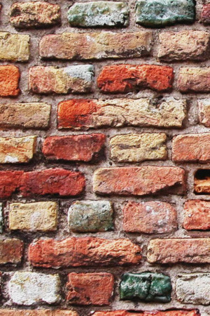 Colorful Bricks Wall IPhone Wallpaper Mobile Wallpaper