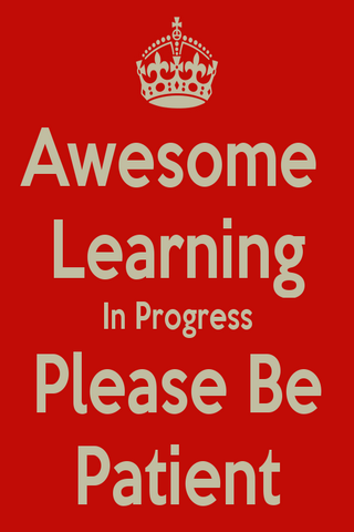 Awesome Learning In Progress IPhone Wallpaper Mobile Wallpaper