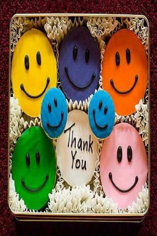 Smilies Thank You IPhone Wallpaper Mobile Wallpaper