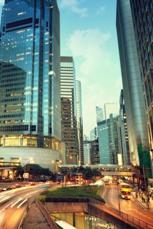 City Street & Buildings IPhone Wallpaper Mobile Wallpaper