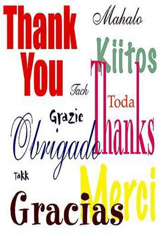 Thank U Different Languages IPhone Wallpaper Mobile Wallpaper