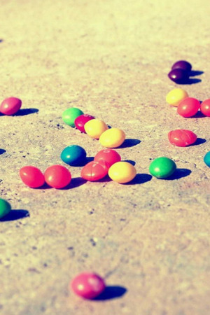 Colorful Candies Yummy  Mobile Wallpaper