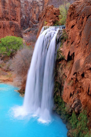 Rocks Beautiful Waterfall IPhone Wallpaper Mobile Wallpaper