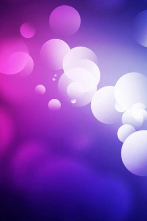 Abstract Colors Bubbles Bokeh IPhone Wallpaper Mobile Wallpaper