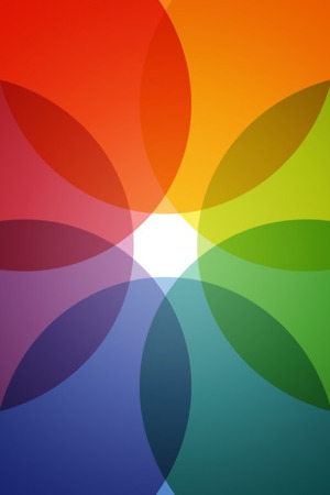 Abstract Colors Circles IPhone Wallpaper Mobile Wallpaper