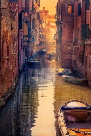 Venice Canal Italy IPhone Wallpaper Mobile Wallpaper